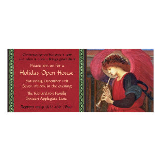 Christmas Holiday Open House Party Invitations