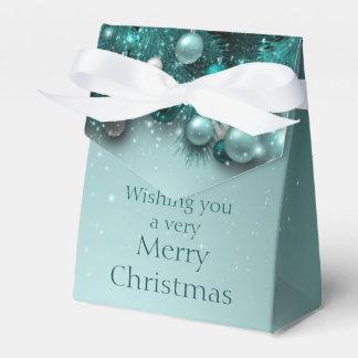 Christmas Holiday Ornaments - Teals Favor Box