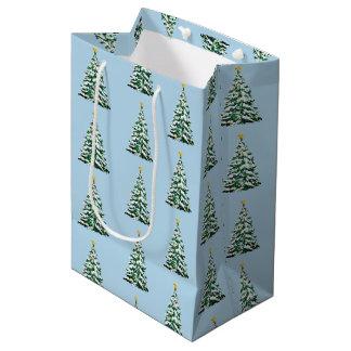 Christmas Holiday Paper Gift Bag