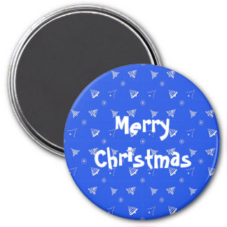 christmas holiday pattern. magnet