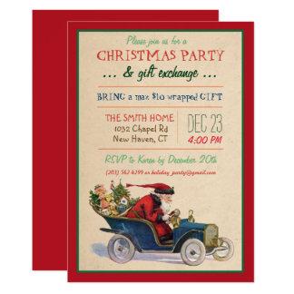 Christmas Holiday Santa Invitation