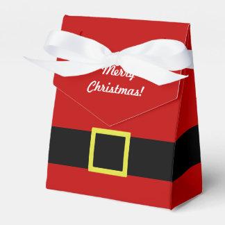 Christmas Holiday | Santa's Belt | Personalized Favor Box