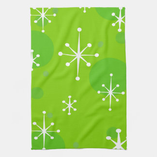 CHRISTMAS HOLIDAY SNOW FLAKE PATTERN KITCHEN TOWEL