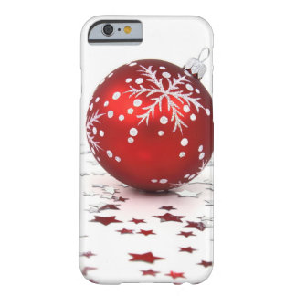 Christmas Holiday Stars Barely There iPhone 6 Case