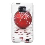 Christmas Holiday Stars Galaxy S2 Case