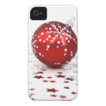 Christmas Holiday Stars iPhone 4 Covers