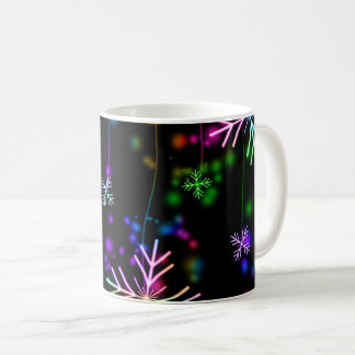 Christmas Holiday Winter Snowflakes Coffee Mug