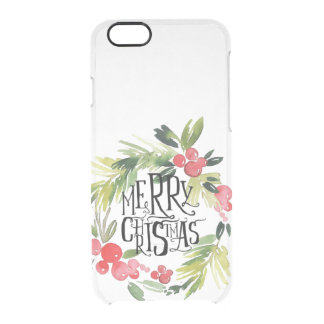 Christmas, Holidays, Decorations, Celebration Clear iPhone 6/6S Case