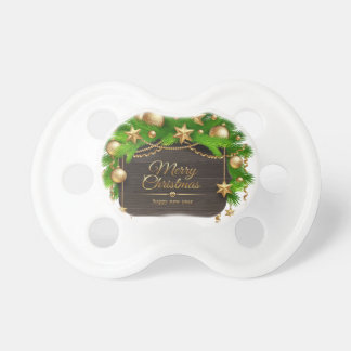 Christmas, Holidays, Decorations, Celebration Pacifier