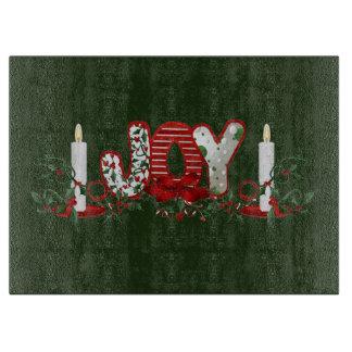 Christmas Holidays Joy Cutting Board