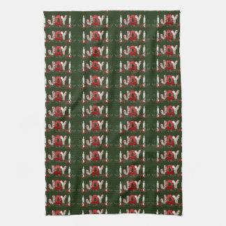 Christmas Holidays Joy Kitchen Towel