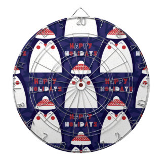 Christmas, holidays, tree decorations, pattern dartboard