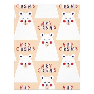 Christmas, holidays, tree decorations, pattern letterhead