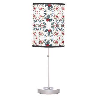 Christmas Holly & Berries Holiday Lamp Shade