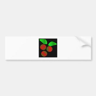 Christmas Holly Bumper Sticker