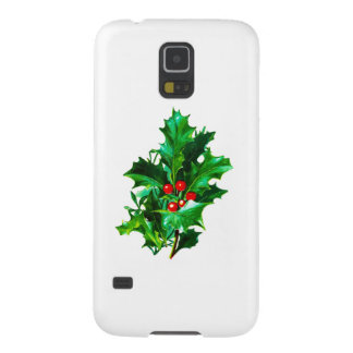 Christmas Holly Galaxy S5 Cover