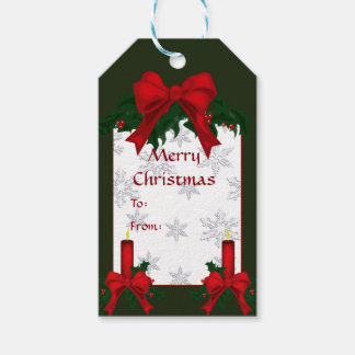 Christmas Holly Gift Tag Pack Of Gift Tags