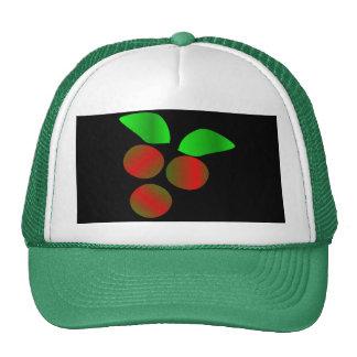 Christmas Holly III In In Green Trucker Hat