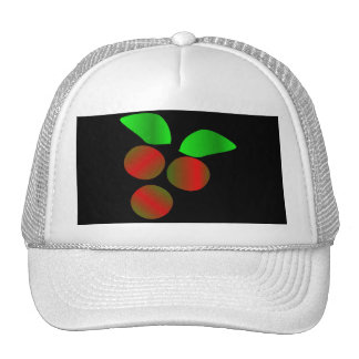 Christmas Holly III In White Hat