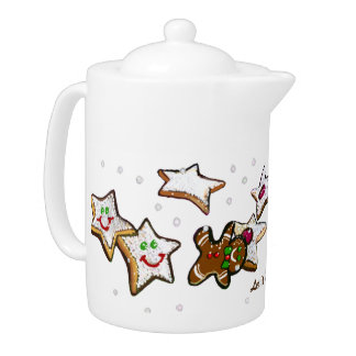 CHRISTMAS HOME GIFT TEA KETTLE
