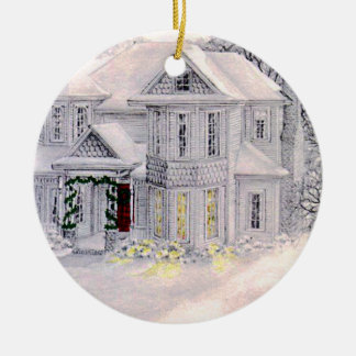 Christmas Home is Where the Heart Is Ornament