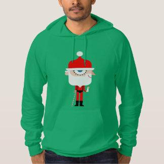 Christmas Hoodie: Clockwork Santa Hoodie
