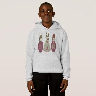 Christmas hoodie (santa , deer , snowman)