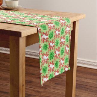 Christmas Horse Pattern Table Runner