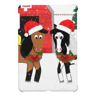 Christmas Horses Case For The iPad Mini