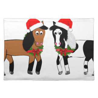 Christmas Horses Placemat