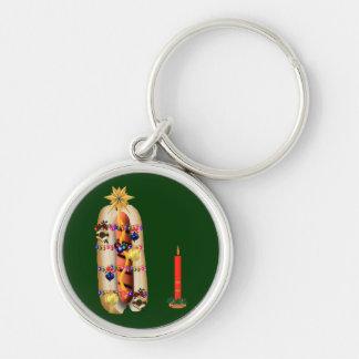 Christmas Hotdog Keychains