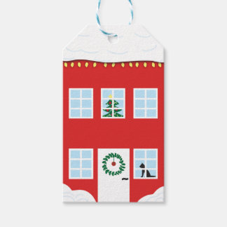 Christmas House Gift Tag Pack Of Gift Tags