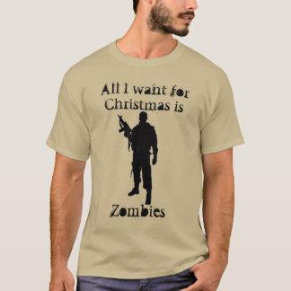 christmas humor  Zombies For Christmas T-Shirt