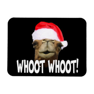 Christmas Hump Day Camel Whoot Whoot Magnet