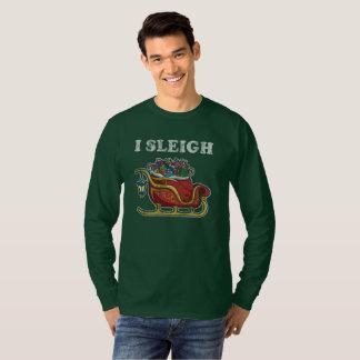 Christmas I Sleigh T-Shirt