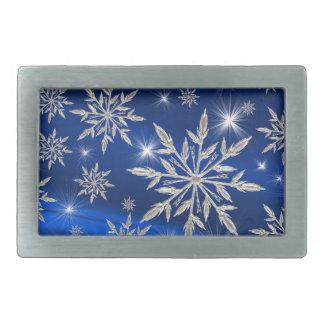 christmas ice favor rectangular belt buckles