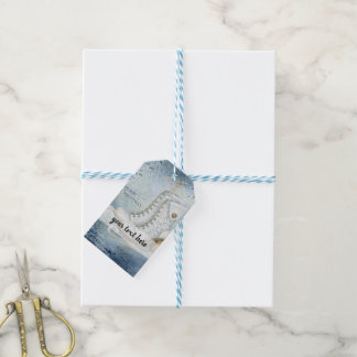 Christmas ice skating gift tags