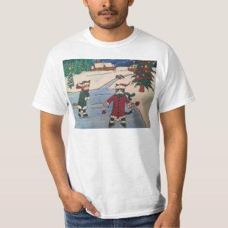 Christmas Ice Skating T-Shirt
