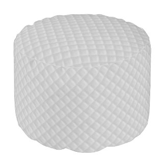 Christmas Icy White Quilt Pattern Pouf