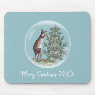 Christmas in Australia Mouse Pad