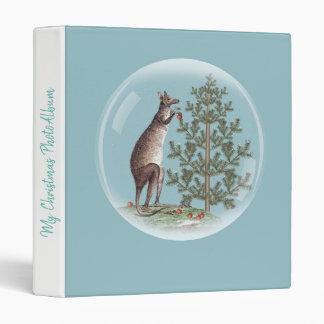 Christmas in Australia Vinyl Binders