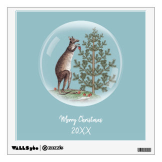 Christmas in Australia Wall Sticker