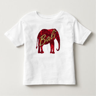 Christmas in Bali Batik 1 Elephant Toddler T-shirt