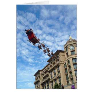 Christmas in Beverly Hills Greeting Card