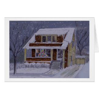 Christmas In Buffalo note card