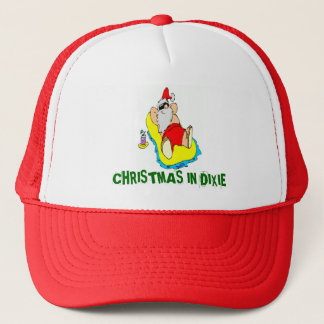 CHRISTMAS IN DIXIE TRUCKER HAT