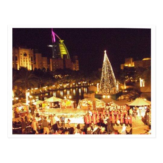 Christmas in Dubai Postcard