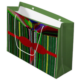"""""""Christmas in July"""" Large Glossy Gift Bag"""
