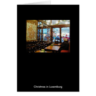 Christmas in Luxemburg Card
