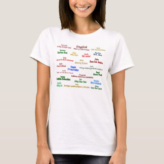 Christmas in Many Languages T-shirt